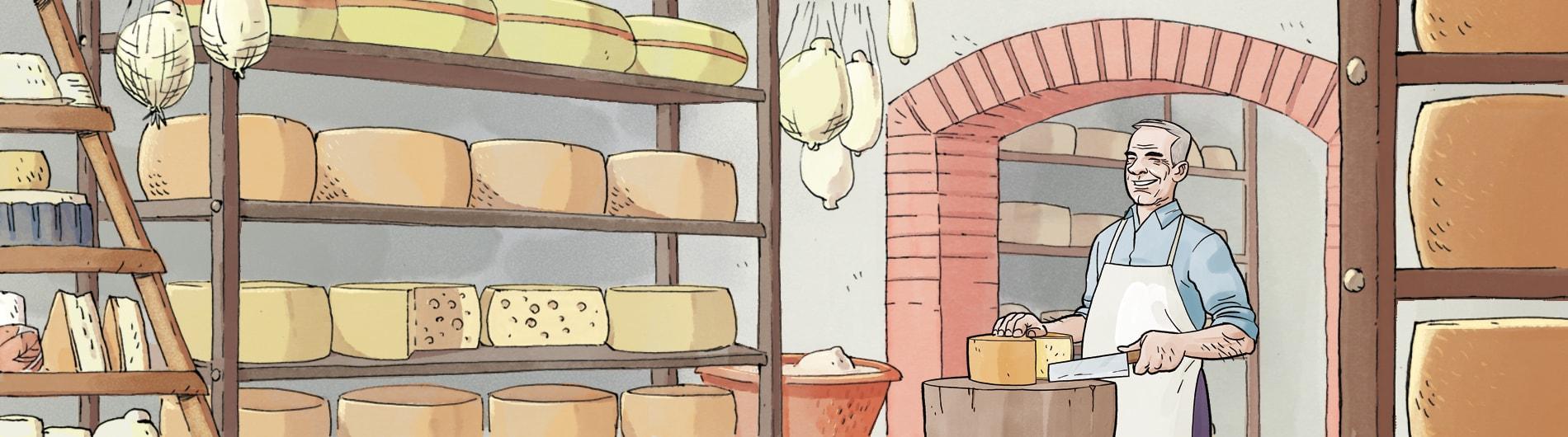 Haus des Käses