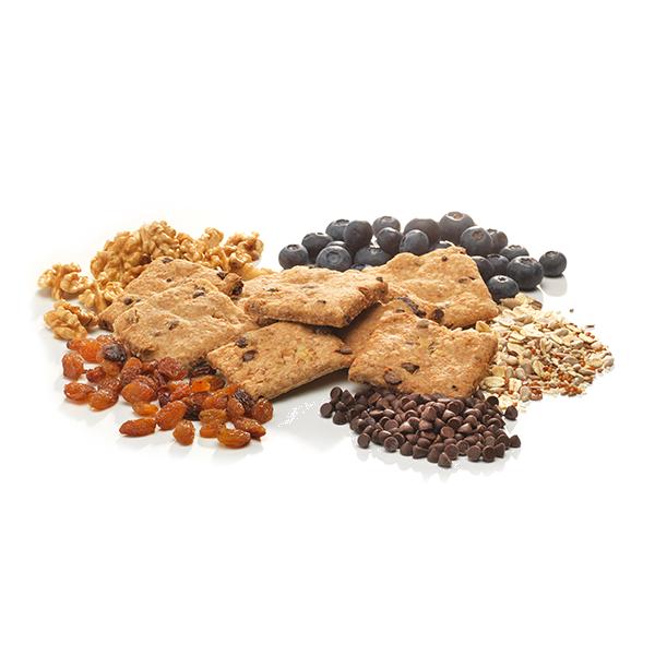 Integrale Poveracci mit Uvetta, Preiselbeeren, Schokoladentropfen, Nüssen und Samen Gr. 250