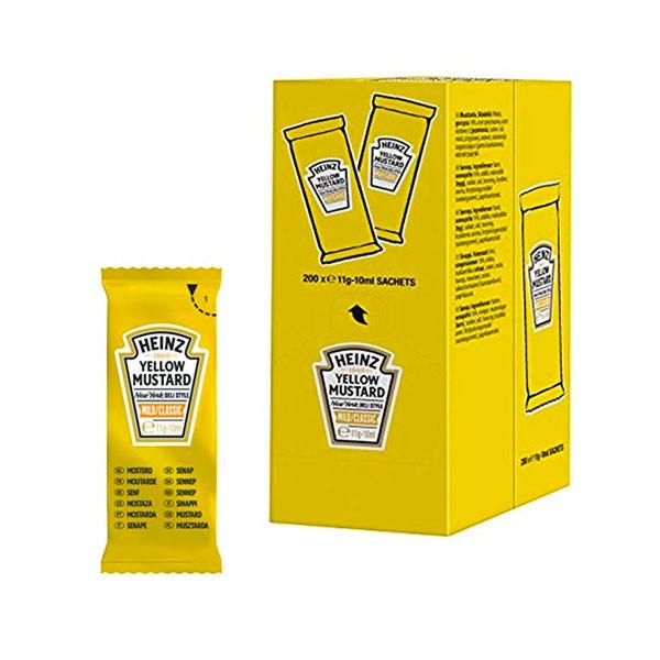 Senape Heinz in bustine (200 pezzi)