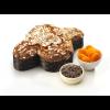 Colomba mit Aprikose, Schokolade und Mandelglasur Kg. 1