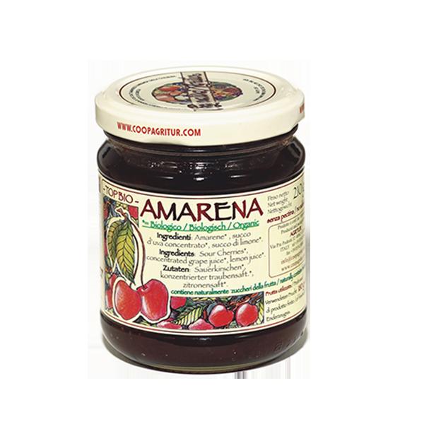 Composta Amarena Bio 180% Gr. 210