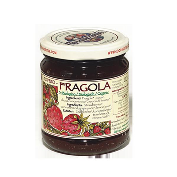 Composta Fragola Bio 150% Gr. 210