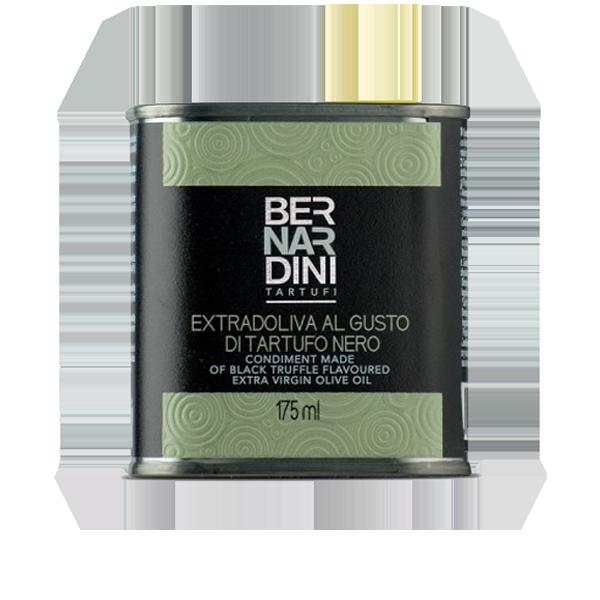 Olio extravergine di oliva al tartufo nero 175 ml