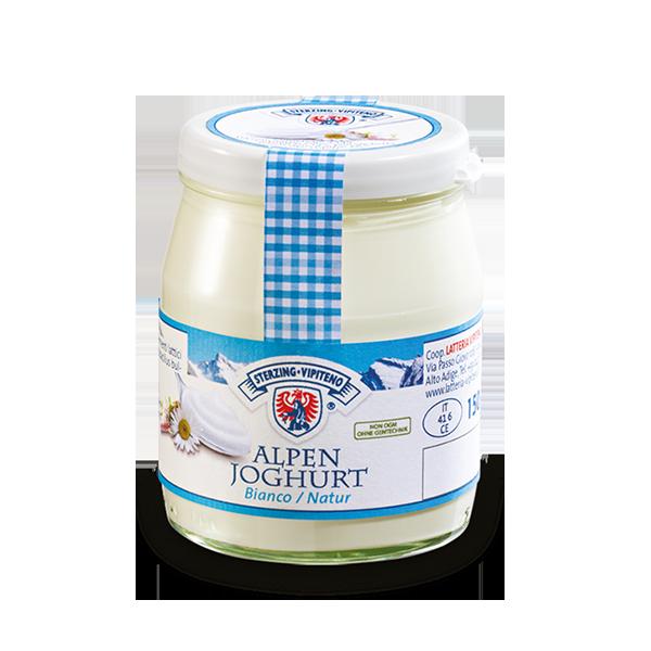 Yogurt Vetro Gr. 150 Intero Bianco