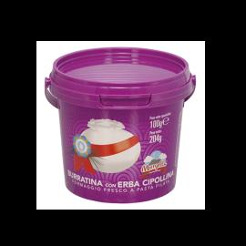 Burratina all' Erba Cipollina Gr. 100