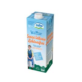 Latte parzialmente scremato senza lattosio lt.1