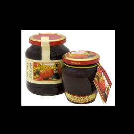 Fragole con aceto balsamico Gr. 225