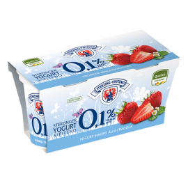 Yogurt Magro Fragola Gr. 125 x 2