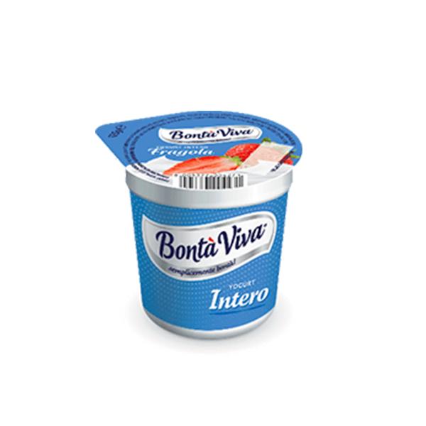 Yogurt alla fragola Bontà Viva Gr. 125