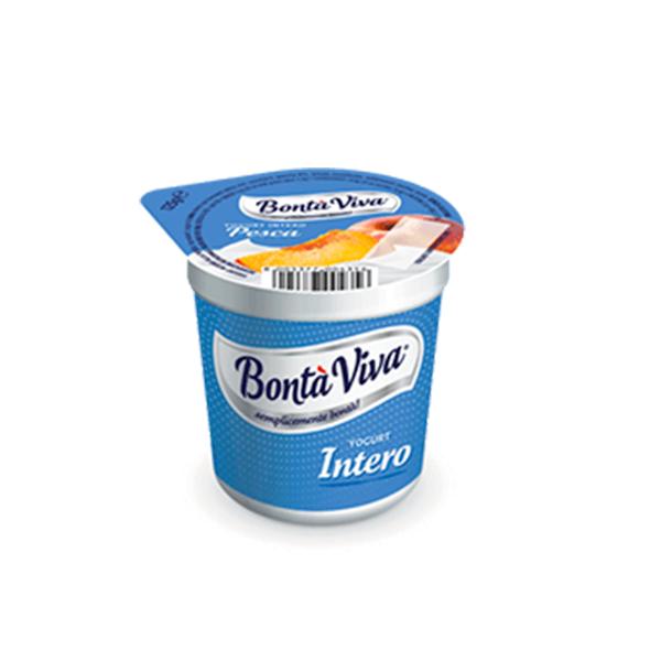Yogurt alla pesca Bontà Viva Gr. 125