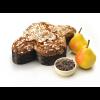 Colomba mit Birnen, Schokolade, Zimt und Mandelglasur Kg. 1