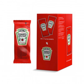 Ketchup Heinz in bustine (200 pezzi)