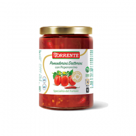 Pomodorini Datterini di collina con Peperoncino Gr. 330