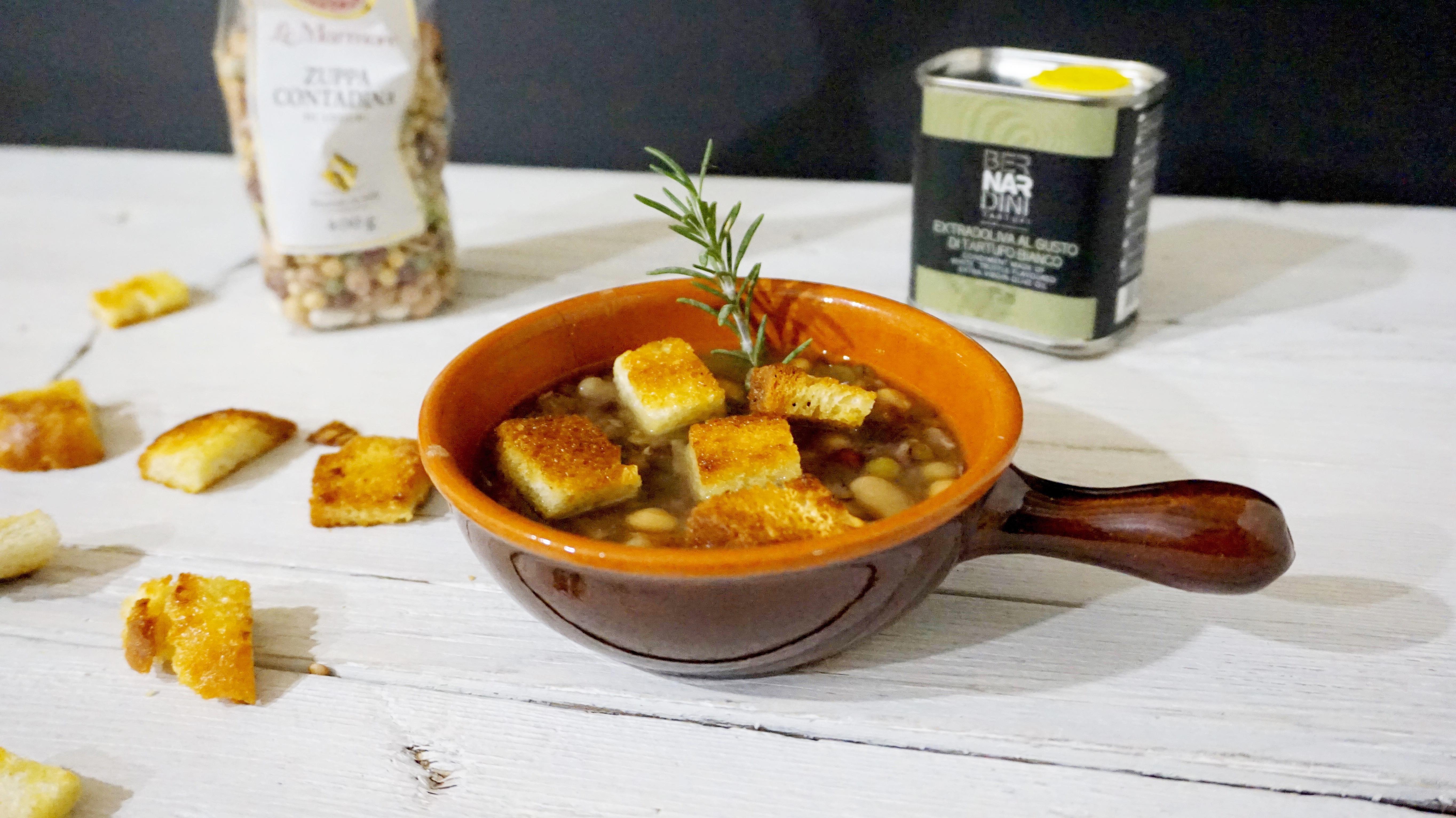 Zuppa di legumi: cinque modi creativi di servirla