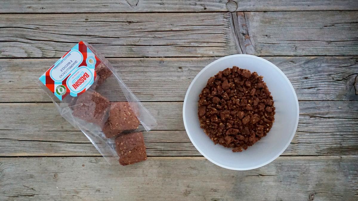 Tiramisù mit Kakaokeksen und Kastaniencreme